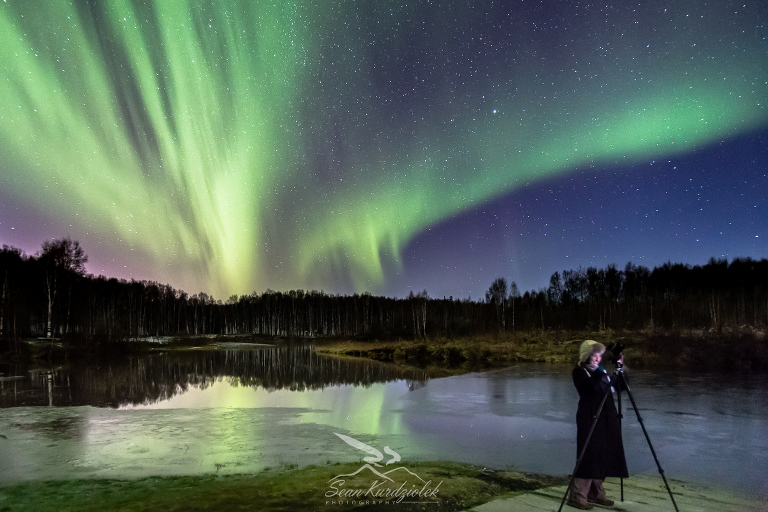 Northern lights workshops Alaska