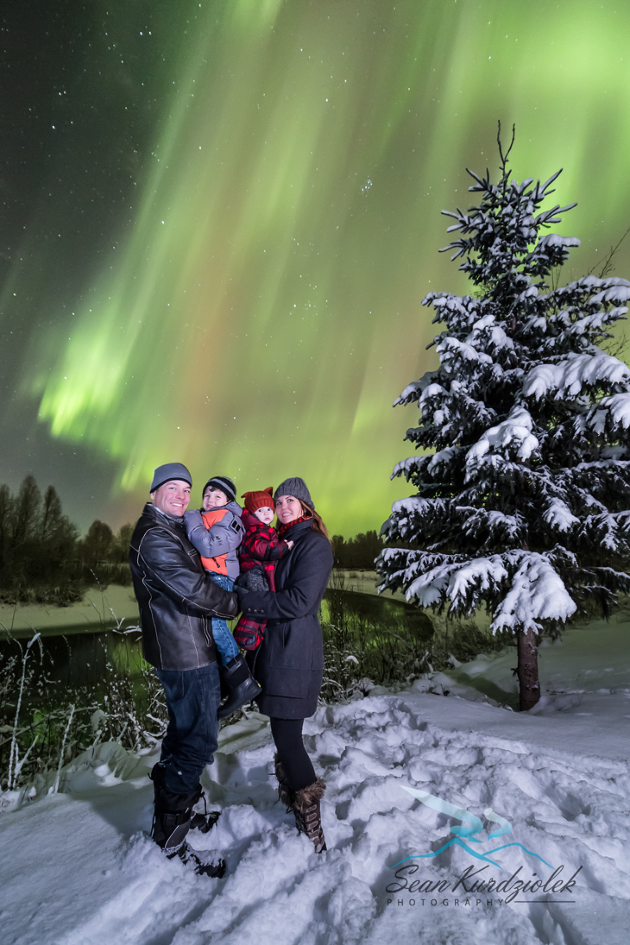 Northern Lights Photography Portraits