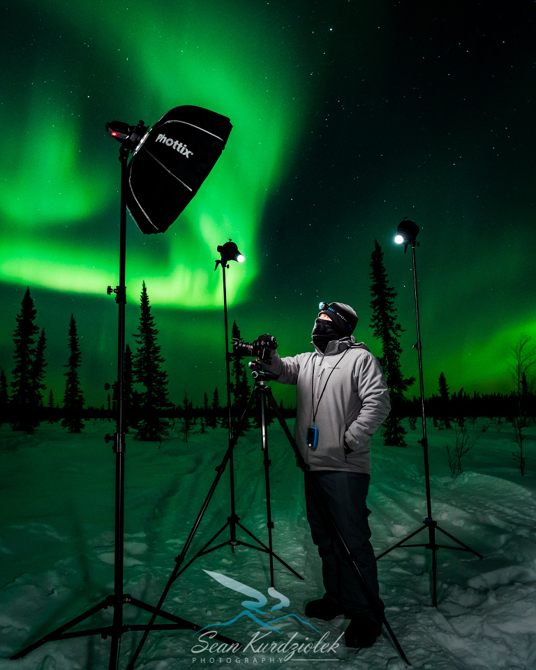 Live Streaming The Northern Lights, Fairbanks Alaska, Aurora